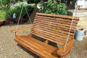 Porch or yard swings- various size, wood types and colors for Sale in Colorado Springs, CO