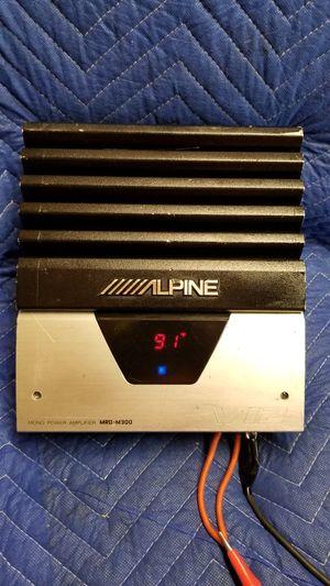 AMP ALPINE V12 DIJITAL MONOBLOK for Sale in Dallas, TX