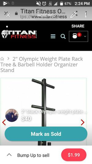 Holds weights for Sale in Salt Lake City, UT