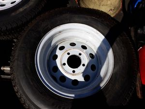 Trailer tires pair 2 for Sale in Long Branch, NJ