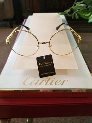 Cartier clear round glasses very classy for Sale in Cleveland, OH