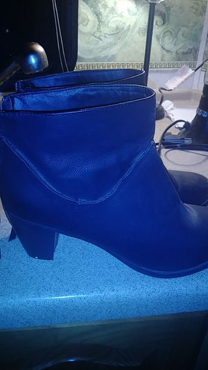 Size 11 SM New York black wedge boots for Sale in Murfreesboro, TN