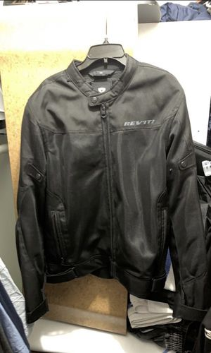 All Black MESH Rev'it (eclipse) motorcycle jacket for Sale in Riverview, FL