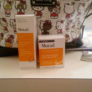 New murad brightening serum and overnight detox moisturizer for Sale in Tacoma, WA