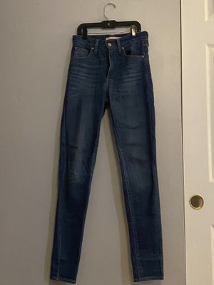 Levi's mile high super skinny jeans for Sale in Tampa, FL