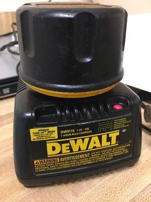 Dewalt 7.2 - 18V DW9116 Battery Charger XRP 18 Volt For DC9096,Drills & Saws for Sale in Houston, TX