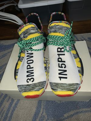 Adidas Nmd human race solar for Sale in Pittsburgh, PA