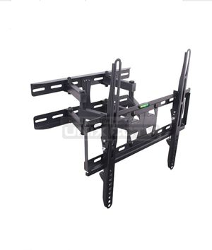 "Dual Arm LCD / LED TV Mount, 23 ~ 60in, Tilt & Rotate, Max 110 lbs, 70 ~ 370mm Extension, Black Fit for most 23"" ~ 60"" TVs • Max.VESA: 400 × 400 for Sale in Downey, CA"
