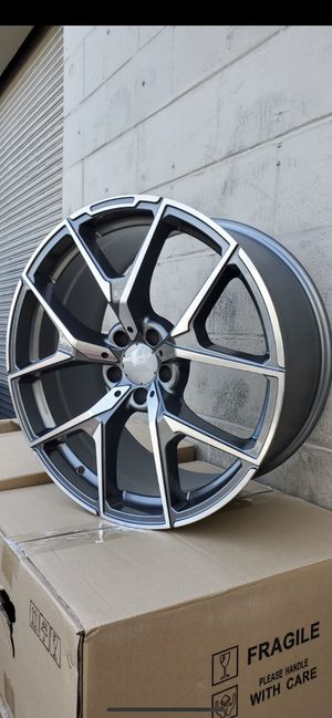 """Mercedes 20"""" new amg style rims tires set for Sale in Hayward, CA"""