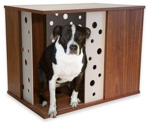 Apoochment Dog Kennel Crate End Table for Sale in Seattle, WA