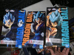 Dragon ball Z 3 Prize figures for Sale in Austin, TX