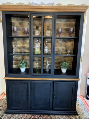 Industrial china cabinet for Sale in Apple Valley, CA