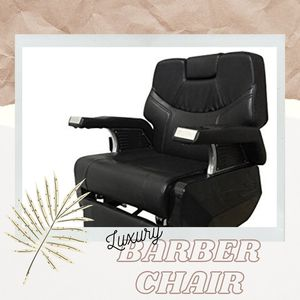 Luxury Hydraulic Reclining Styling/Barber Chair for Sale in Norcross, GA