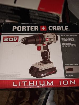 Porter Cable Power Tools 20V Drill Driver for Sale in Denver, CO