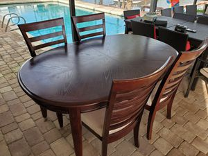 Dining Table Solid Wood **$140 TODAY** for Sale in Hialeah, FL