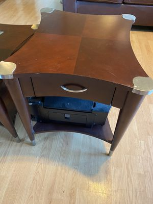 Coffee table and 2 side tables for Sale in GRAHAM, NC
