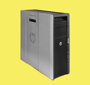 HP Z620 Workstation Desktop Tower Computer - Intel Xeon E5-1607 - 3 Ghz - ✅ 48GB RAM - NVIDIA Quadro K4000 -3GB dedicated GPU graphic card - 1TB West for Sale in Rolling Meadows, IL