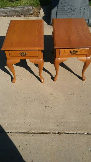 Pair end tables for Sale in Hamburg, NY