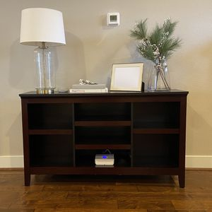 Console Table Book Shelf for Sale in North Plains, OR