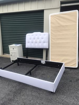 Twin XL size bed frame and box springs for Sale in Purcellville, VA