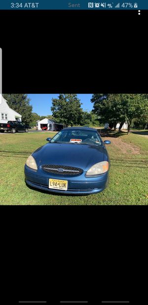 2002 FORD TAURUS for Sale in Mystic Islands, NJ