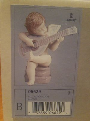 "LLADRO ANGEL FIGURINE #06629 ""ALEGRO ANGELICAL"" Allegro NIB! for Sale in San Diego, CA"