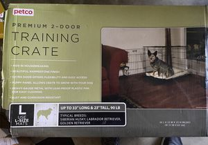 Dog training crate for Sale in Hollister, CA