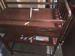 IKEA changing table and crib for Sale in Springfield, MA