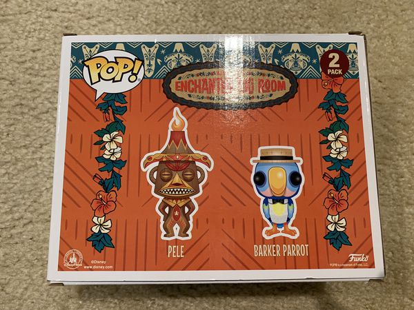 Funko POP! Pele & Barker Parrot (Disney Parks Exclusive)