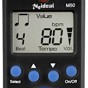 Metronome,Digital Metronome,Electronic Metronome,Clip On With Battery,Suitable for Piano,Violin,Guitar,Drum,Running,Dancing - Black for Sale in Las Vegas, NV