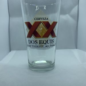 Dos Equis Glass Beer Cups ( Set Of 4) for Sale in Modesto, CA