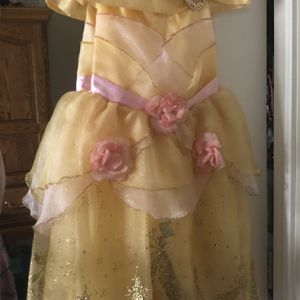 Disney 4T Dress Great condition Belle Beauty And The Beast for Sale in Redding, CA