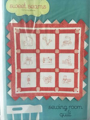 Quilt Pattern Embroidery Sewing Pattern for Sale in Colbert, WA