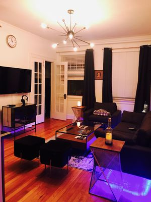 Article Sofa Chair , Velvet Stools and Coffee Table for Sale in Tampa, FL