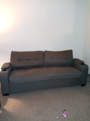 Grey small couch for Sale in Portland, OR