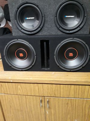 JBL and Blaupunkt for Sale in Groesbeck, OH