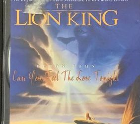 The Lion King Animation Songs CD for Sale in Chapel Hill,  NC