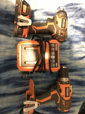 RIDGID 18v Drills for Sale in Norwalk, CA