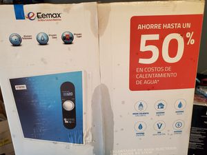 Eemax tankless water heater for Sale in Ellenwood, GA