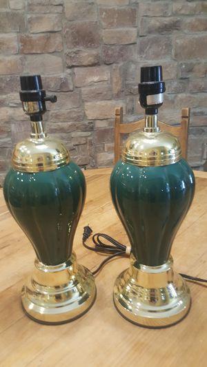 2 lamps set for Sale in Chandler, AZ