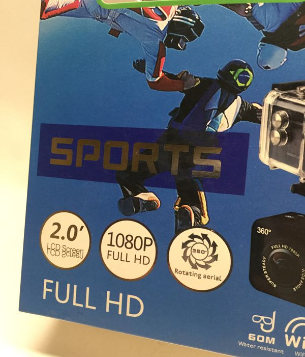Sports camera water proof hd WiFi