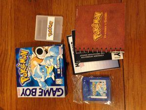 Pokemon Blue, Gameboy, Complete in box (CiB) for Sale in Everett, WA