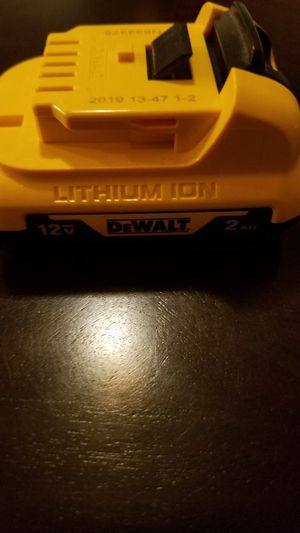Dewalt 12v battery and charger for Sale in Bloomington, IN