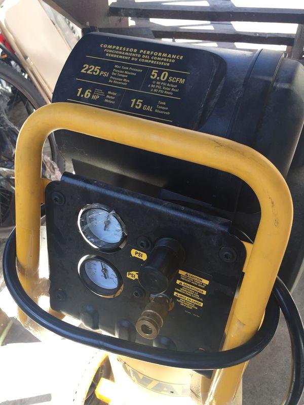 On sale dewalt compresor almost new i ask 390 i pay arround 480 newi have it in oakland