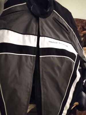 Frank Thomas Aqua pore size large motorcycle riding jacket for Sale in Lacey, WA