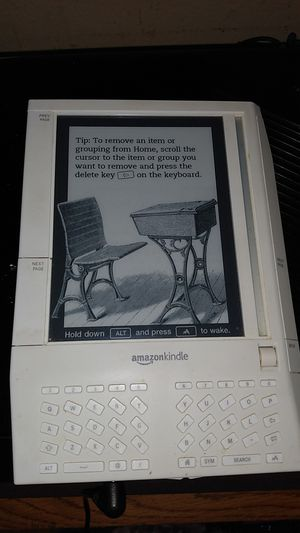Amazon Kindle Original, 1st Generation eBook Reader for Sale in Milwaukee, WI