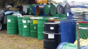 55 gallons metal drums food grade for Sale in Sanger, CA