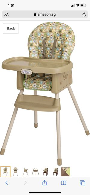 Graco high chair & booster ( 2 available ) for Sale in Brooklyn, NY
