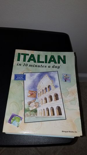 Italian in 20 Minutes a Day for Sale in Umatilla, FL