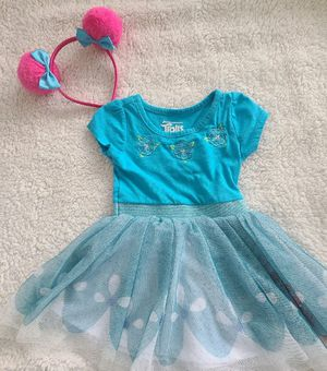Trolls Aqua dress -2T for Sale in Doral, FL